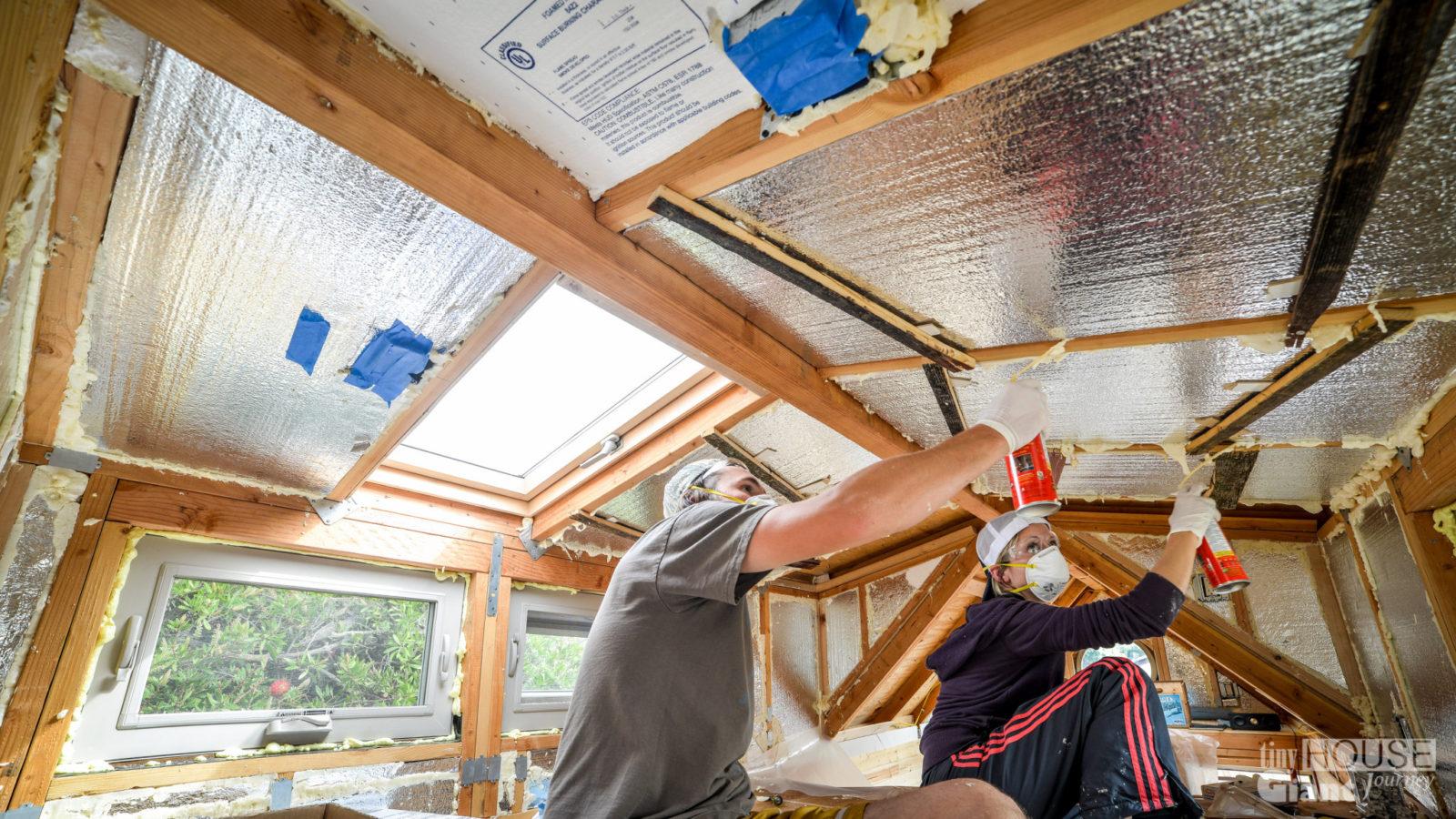 Утепление летнего дачного домика своими руками