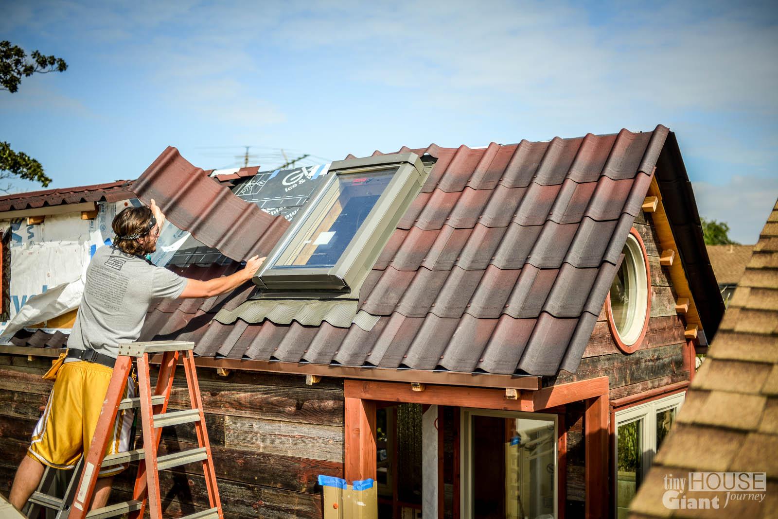 Tiny House Giant Journey Ondura Onduvilla 3d Shingles Roof