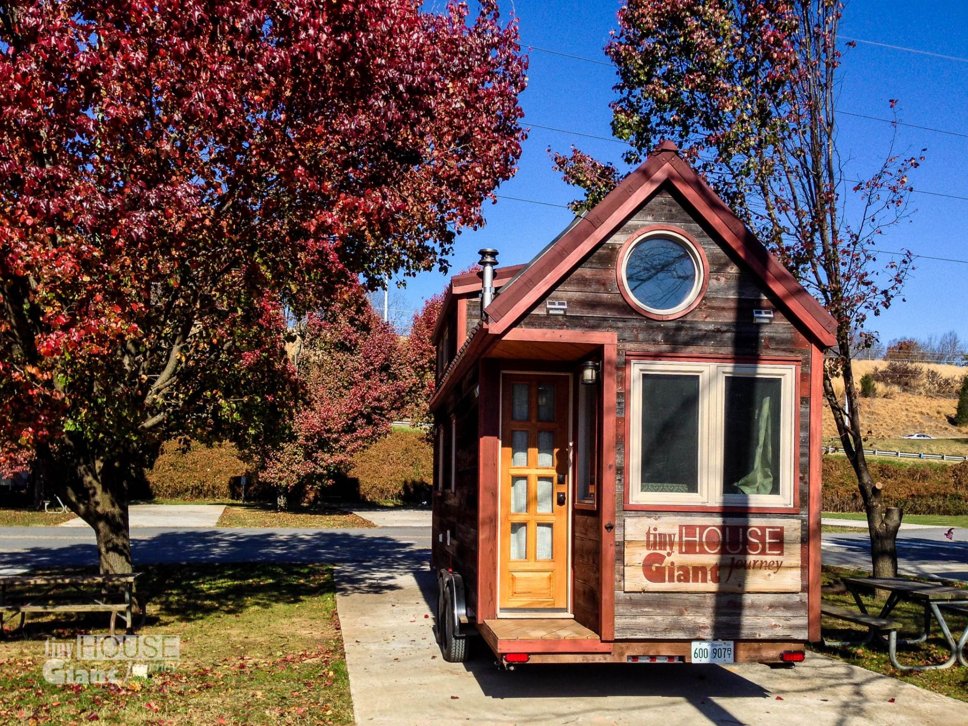 Where to park a tiny house