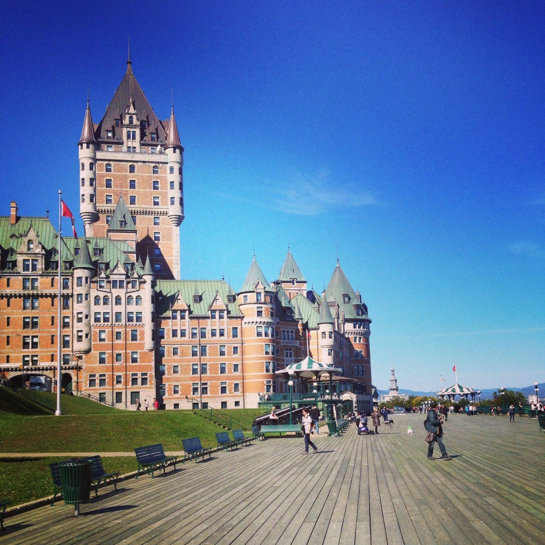 Quebec City: Little Paris & Grassy Walls