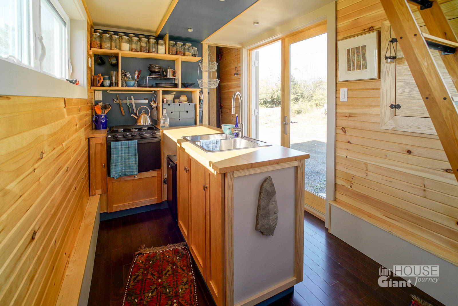 Tiny House Kitchen 10 Tiny House Tricks For Decluttering Your Counters Tiny House