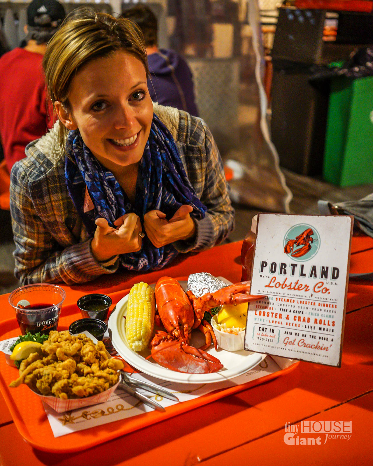 Portland, ME: Duck Wing & Lobster Claw - Tiny House Giant Journey