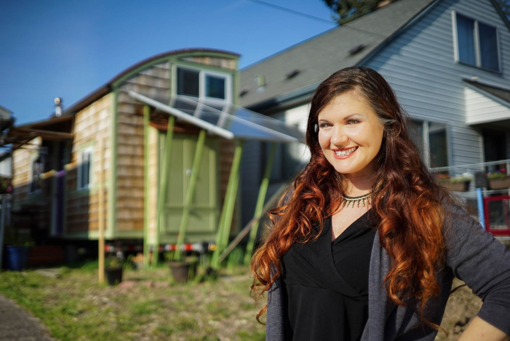 Anita's Lilypad Eco Friendly Tiny Home