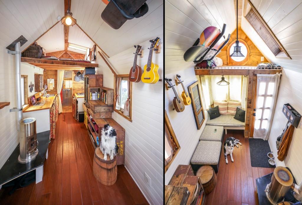 Tiny House White Interior