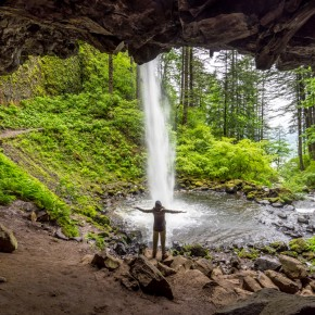 Columbia Gorge: Drooling Cascades & Lush Forests