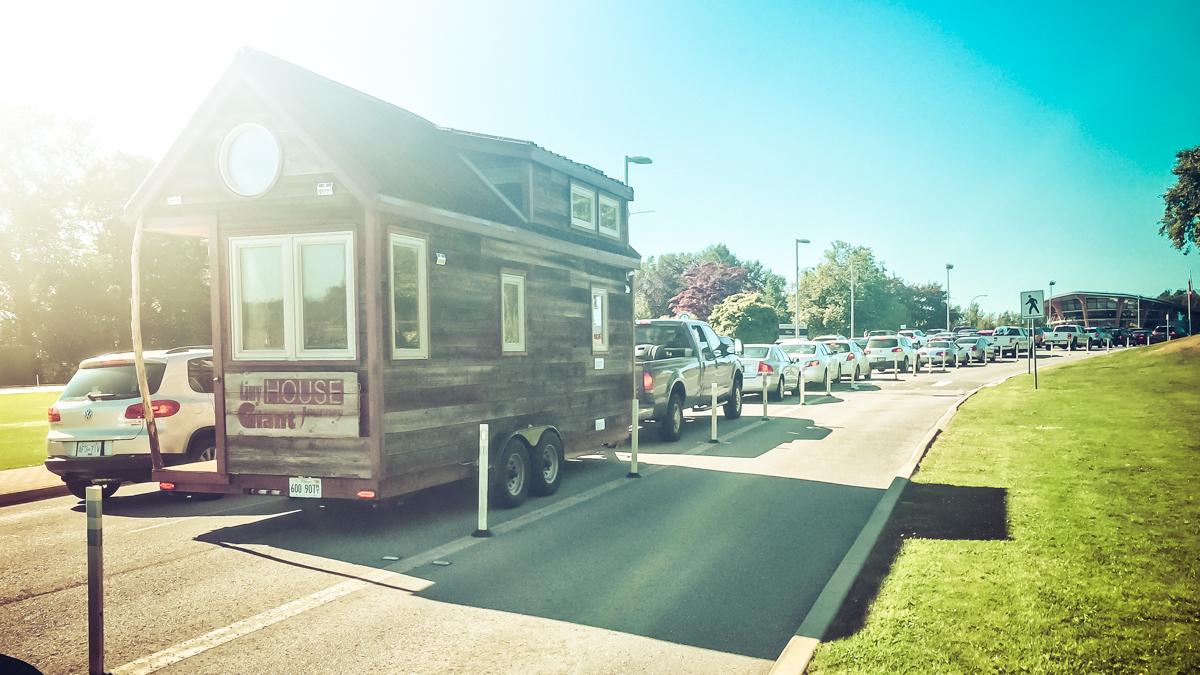 Horror & Delight: Tiny House Crossing Into Canada