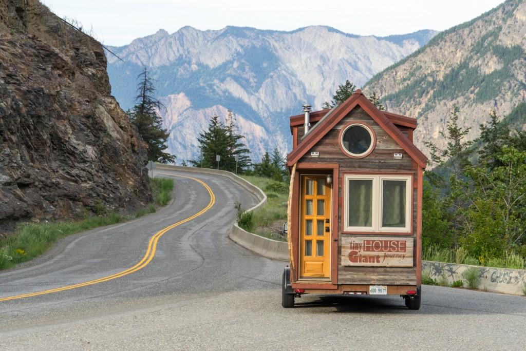 Tiny House Driving Through British Columbia - 0002