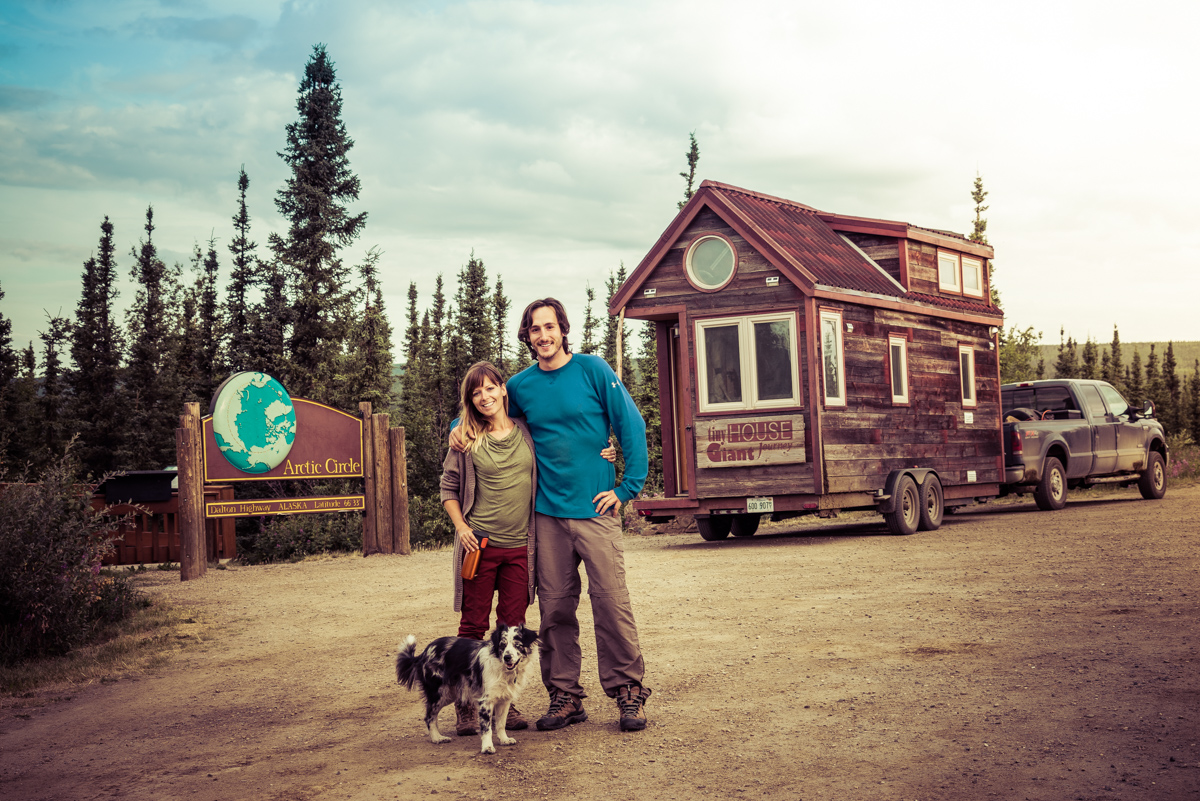 Tiny House Visits the Arctic Circle