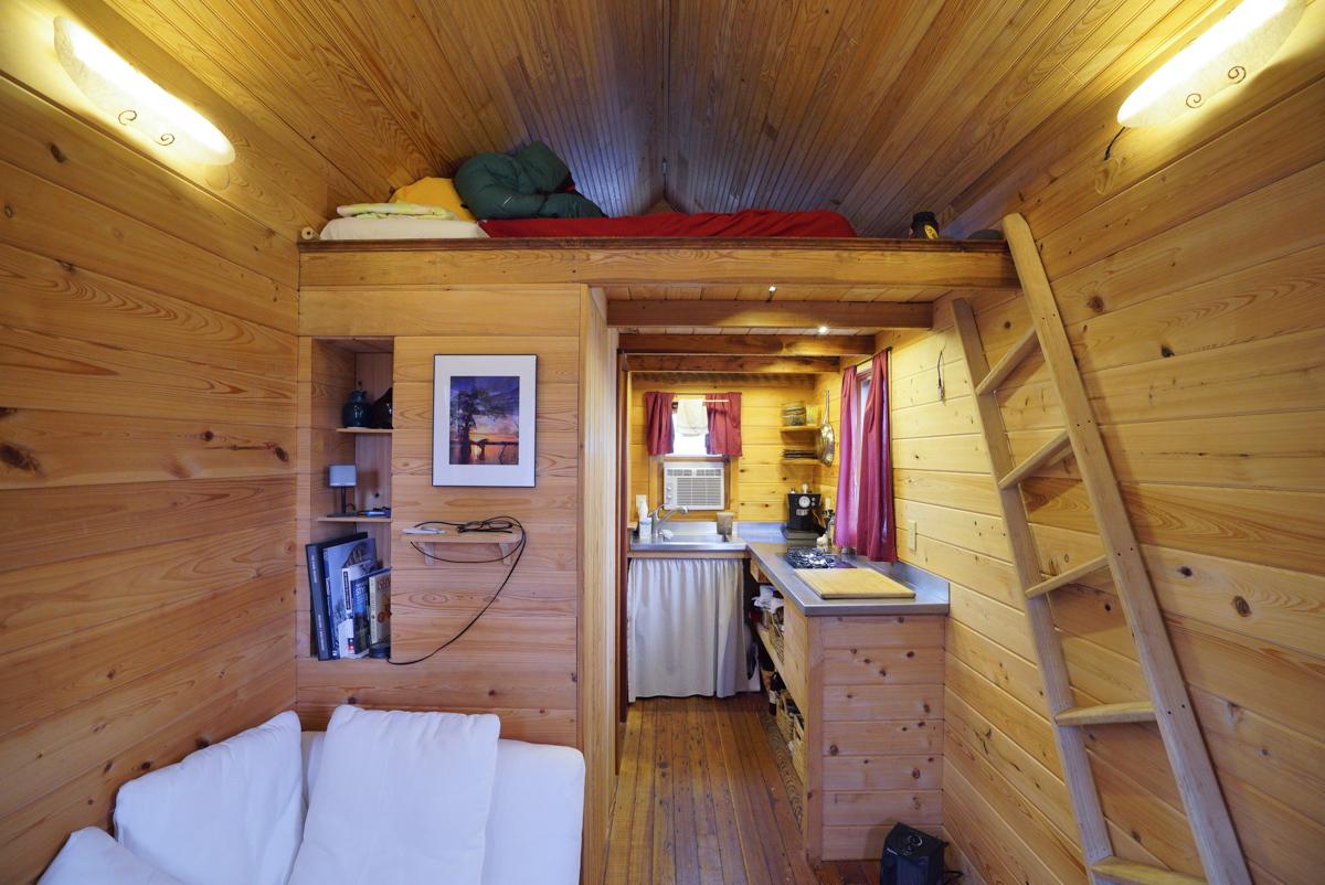 Minimal Tiny House For Adventurous Rock Climber