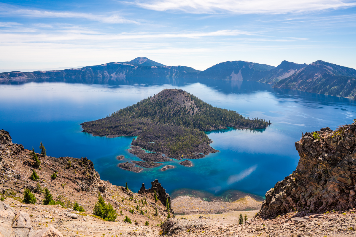 Crater Lake: Foggy Monster & Sunrise Blues