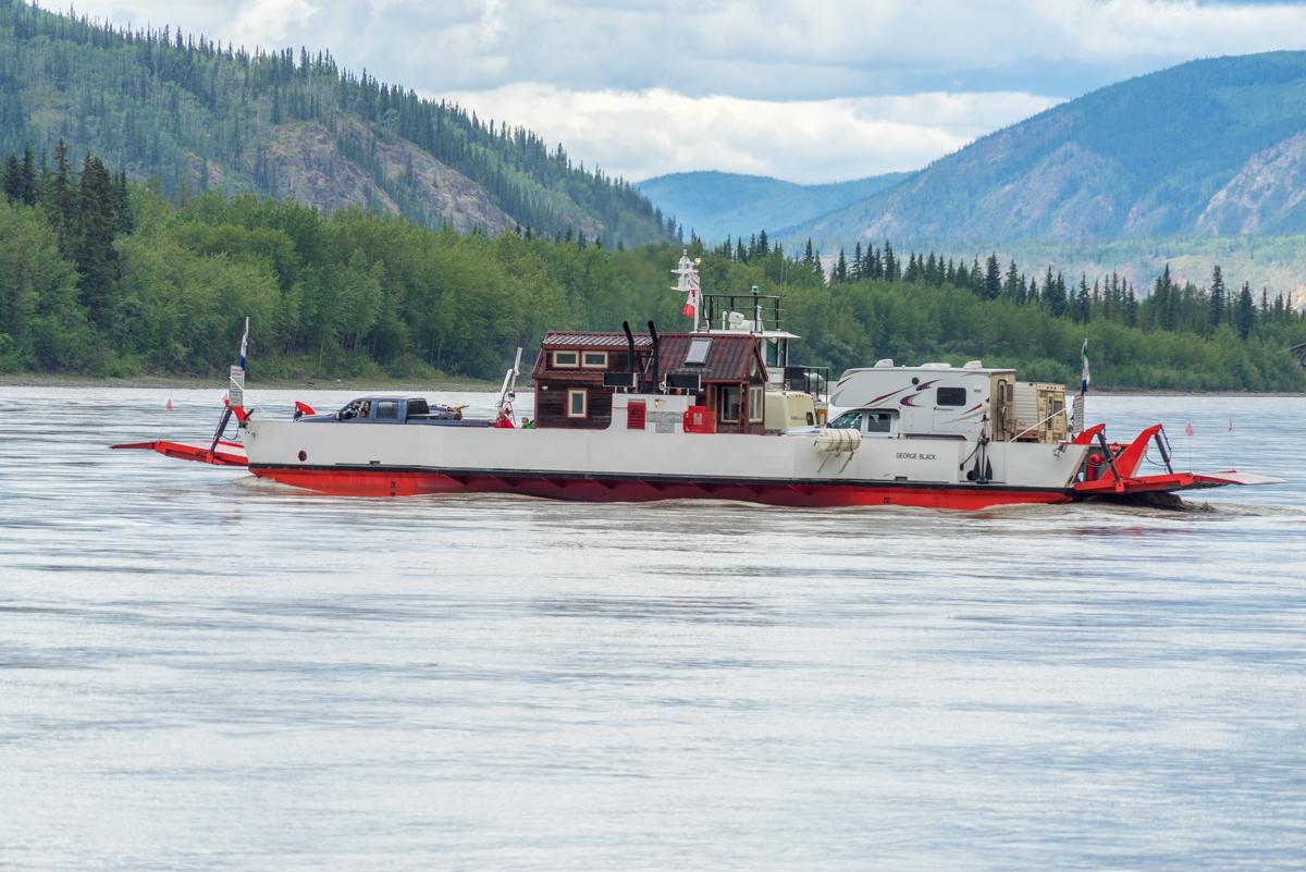 Dawson City Ferry – 0006