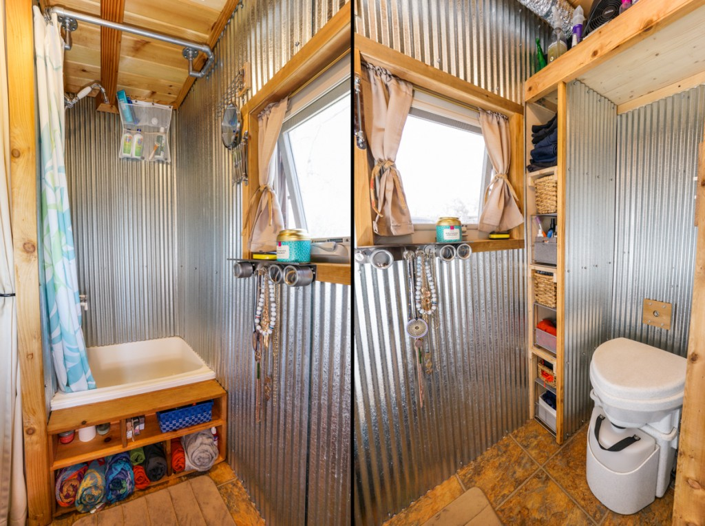 Bathroom Design For Tiny House tiny house materials: itemized list of materials and appliances