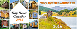 Tiny House Charity and Landscape Calendars 2016