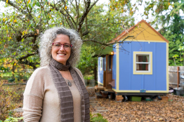 """Serenity"" in Portland Tiny House Community"