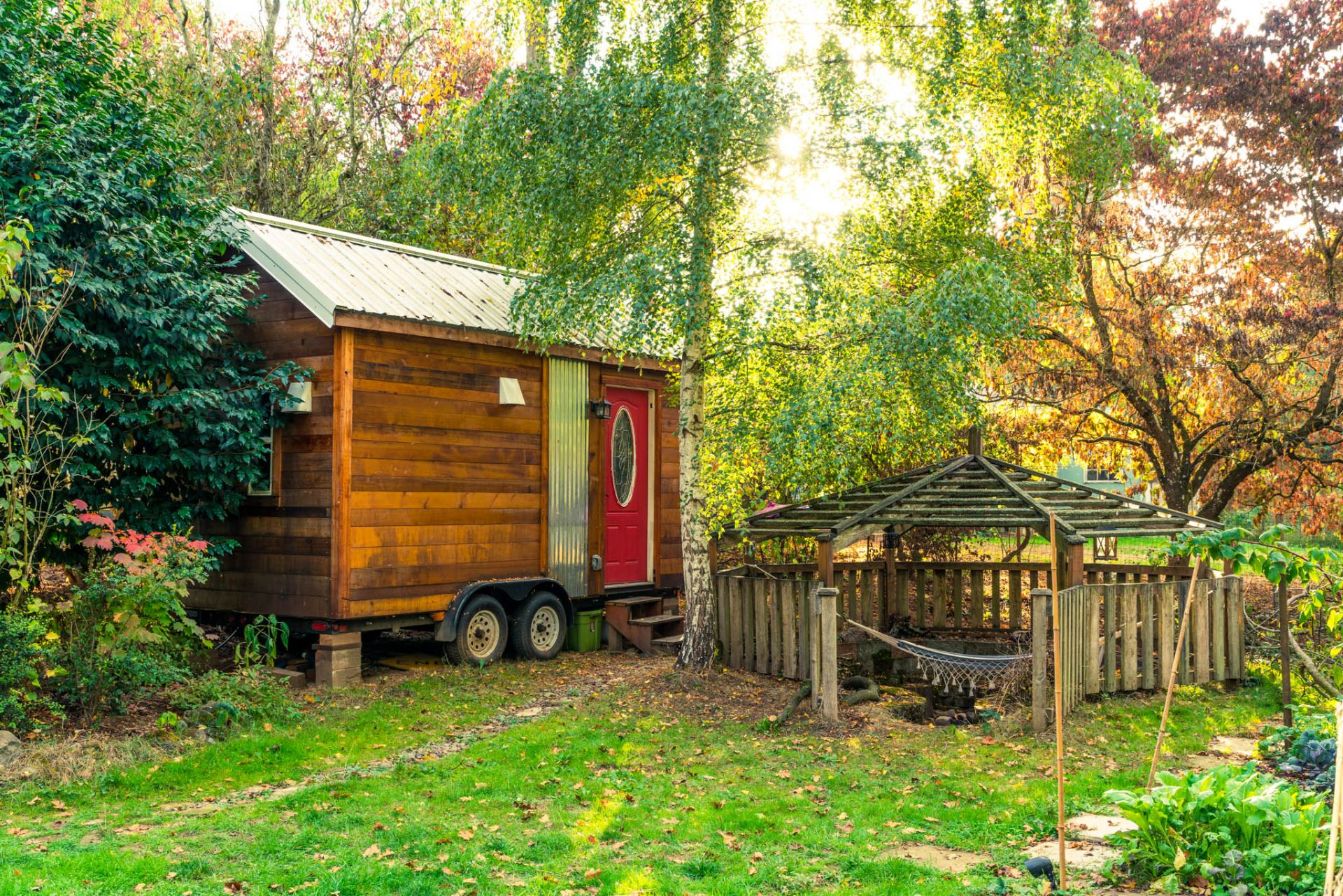 Phenomenal Tiny House Community Celebrates 1 Year Anniversary Largest Home Design Picture Inspirations Pitcheantrous