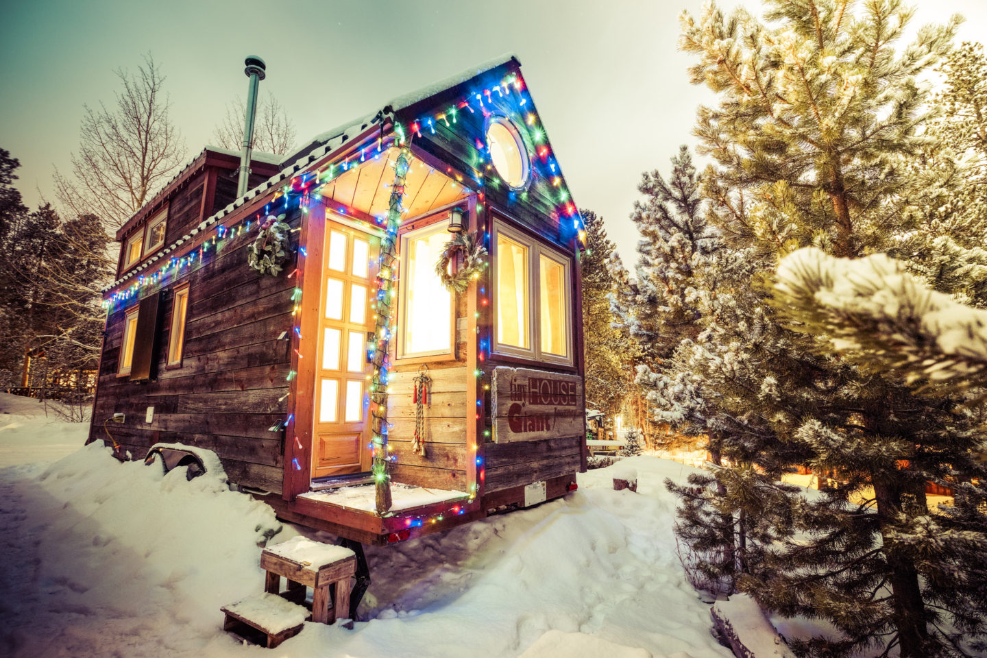 A Merry Little Christmas in a Tiny House