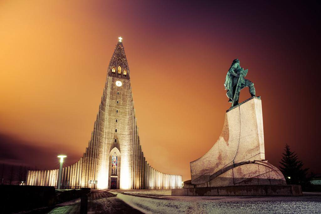 Hallgrímskirkja church - 0002