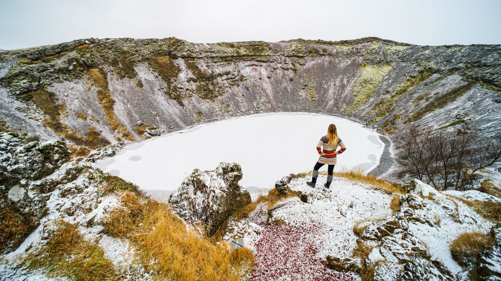Driving Iceland's Golden Circle in Winter