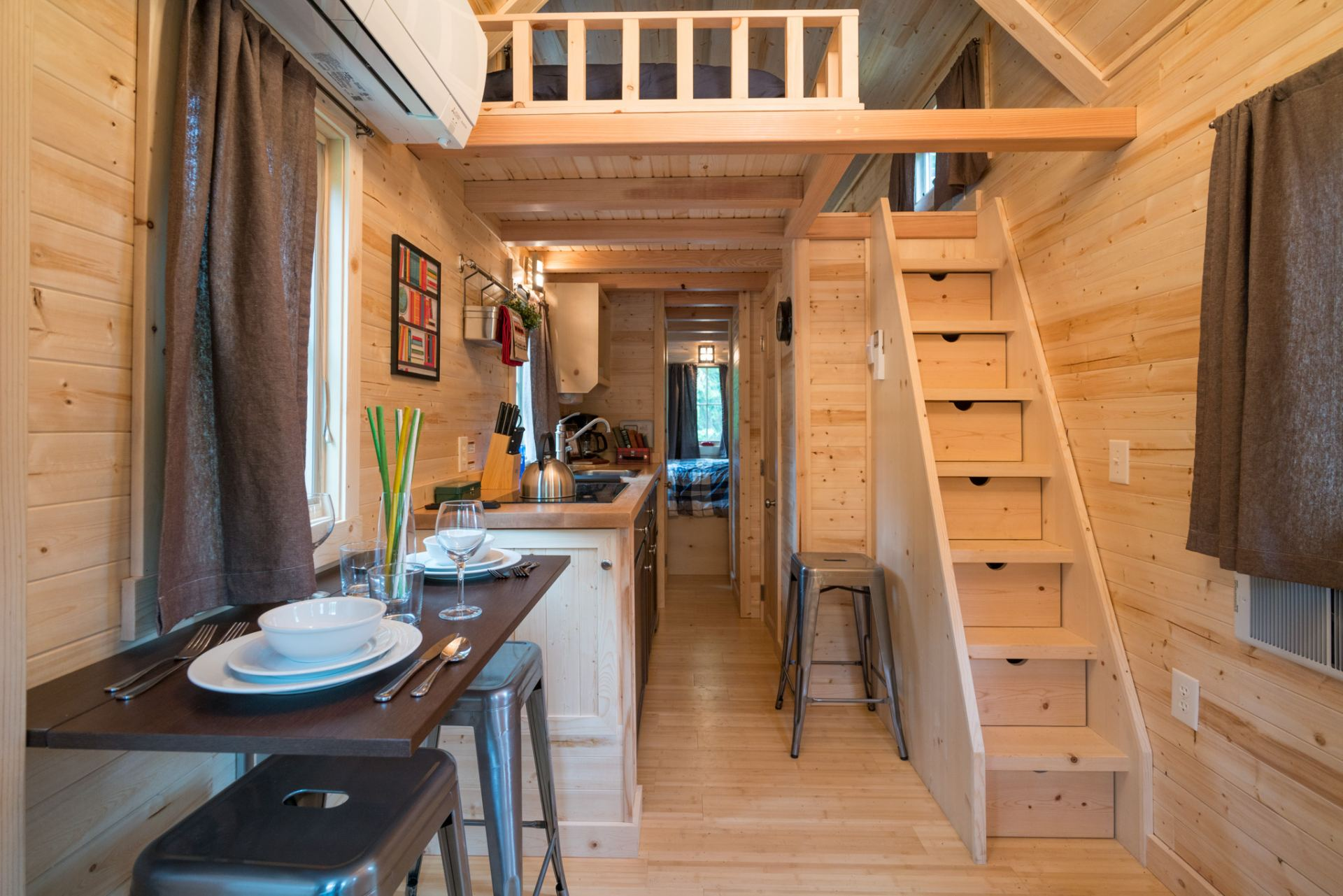 "Tiny Home Designs: ""Lincoln"" Tiny House Rental At Mt Hood Tiny House Village"
