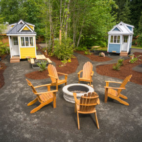NEW Tiny House Village in Mt Hood Oregon