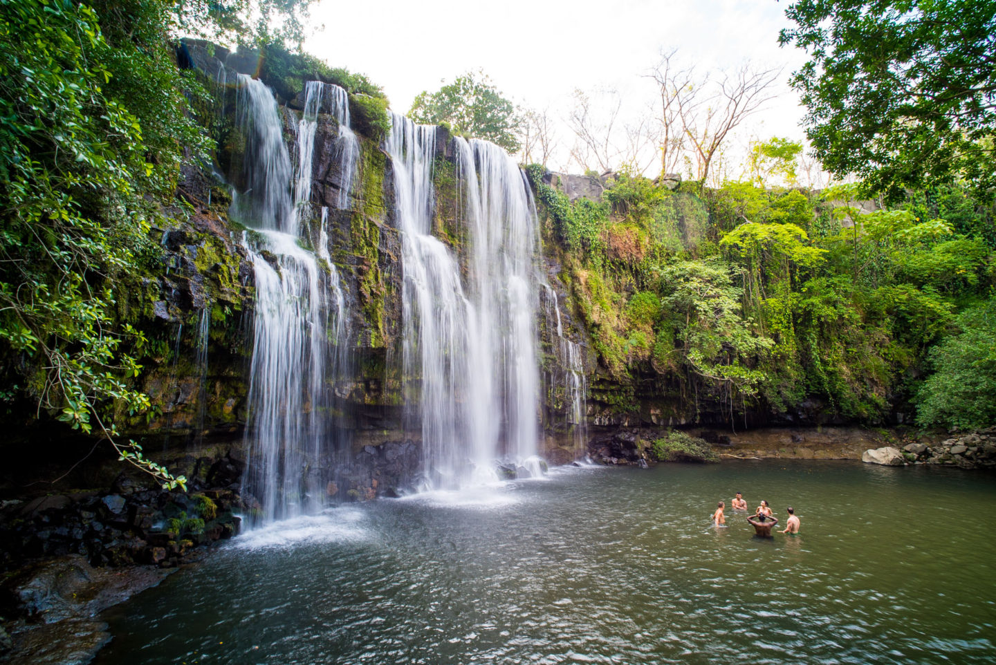 Secret Costa Rica waterfall near Liberia, not to be missed!