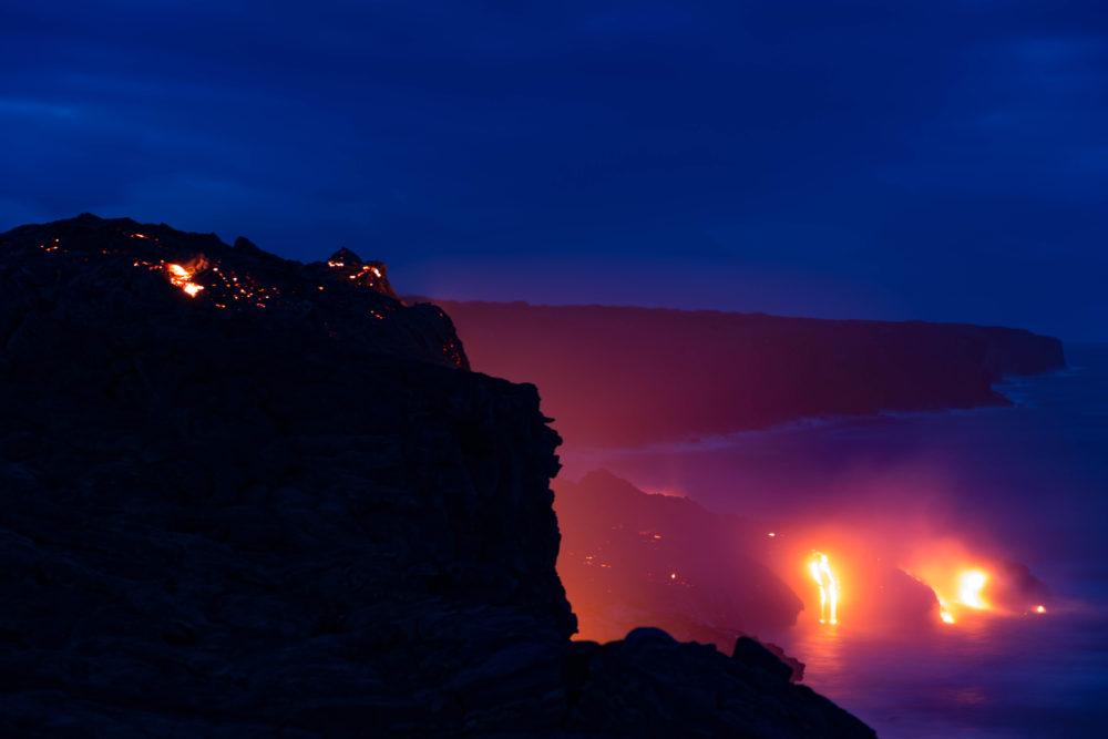 Hawaii Volcano: Hike or Bike Next to Flowing Lava