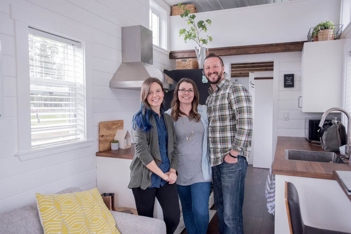 Jadon & Katie Downsize to a Tiny House that Feels like a Real Home