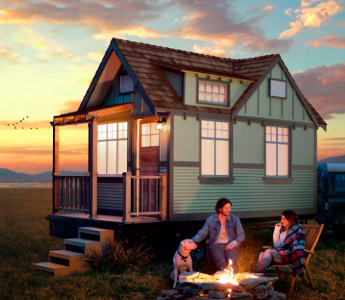 learn how you can win a tiny house rv worth - House Sweepstakes
