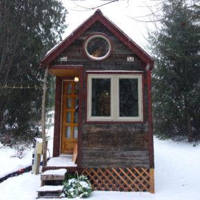 Tiny House Skirt: A simple DIY option for under $100