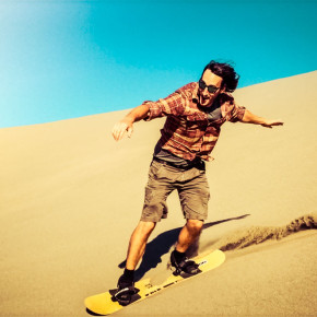 Bruneau Dunes: Surfing the Sand