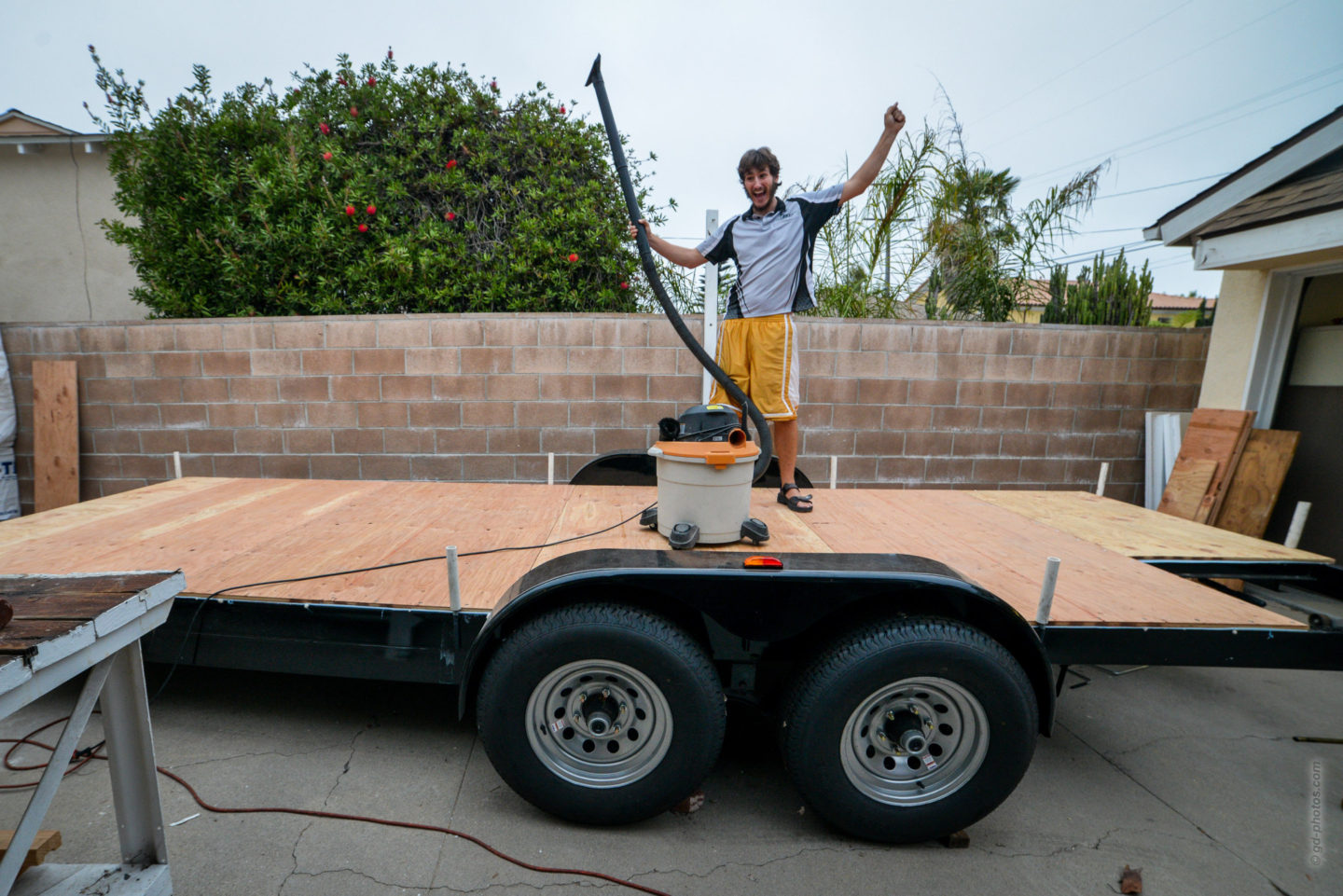 Sheathing The Tiny House Trailer