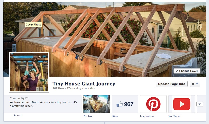 Tiny House Giant Journey Facebook Header