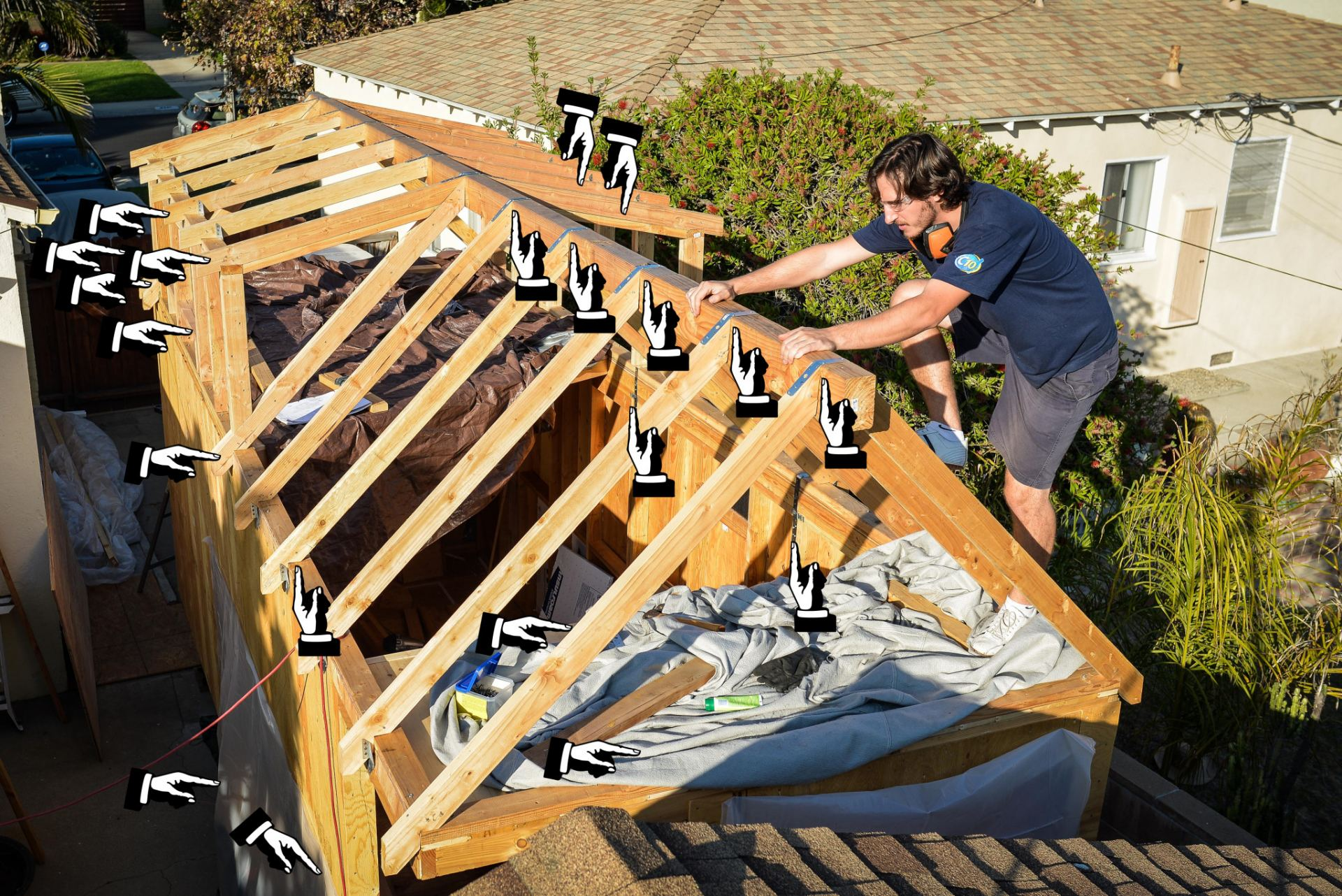 Tiny House Roof Framing and BBBBq - 0014-Edit