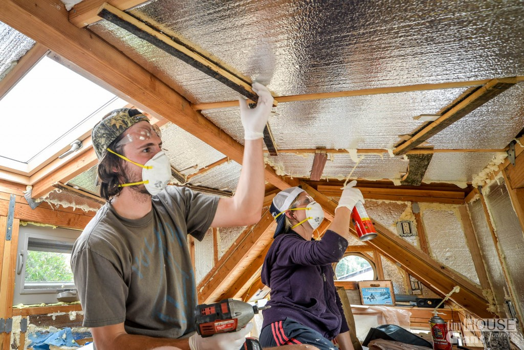 Tiny House Insulation - 0160