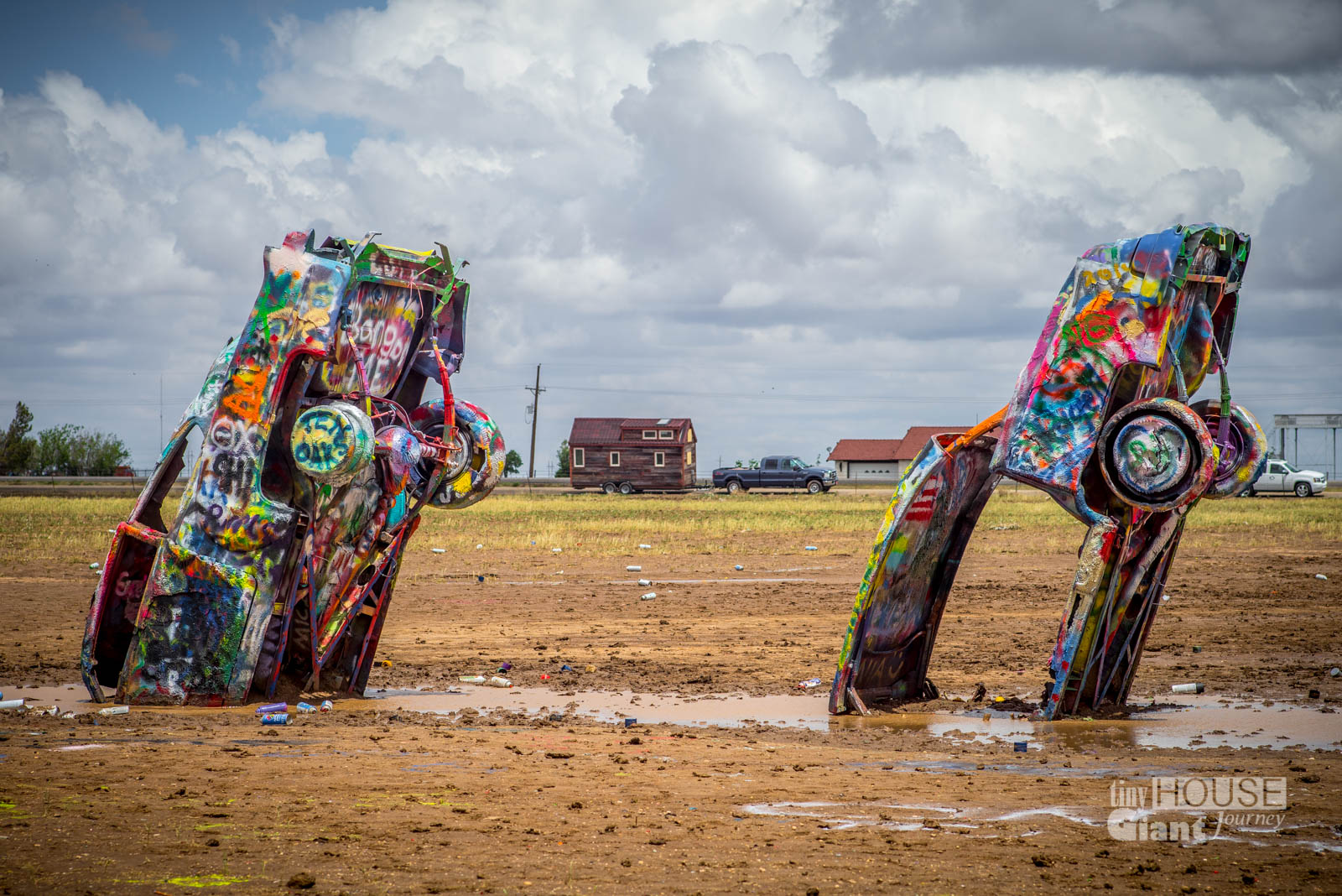 THGJ @ Cadillac Ranch in Texas