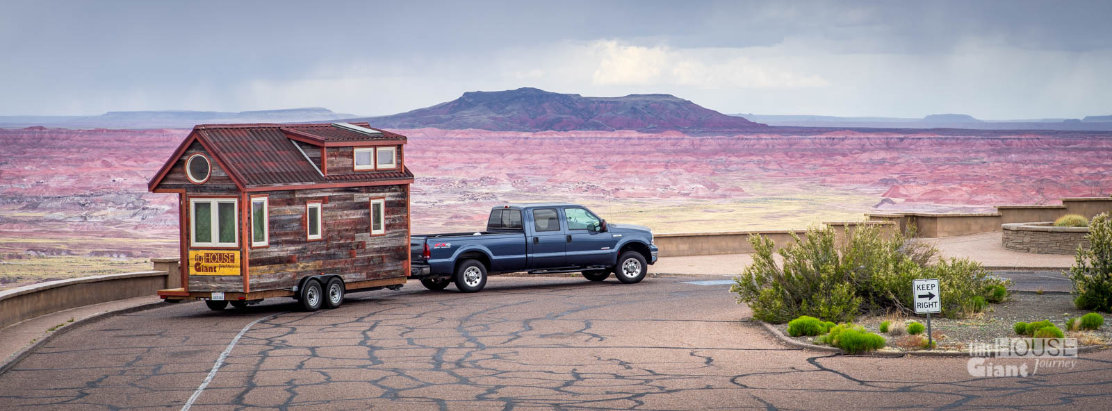 Tiny House Painted Desert