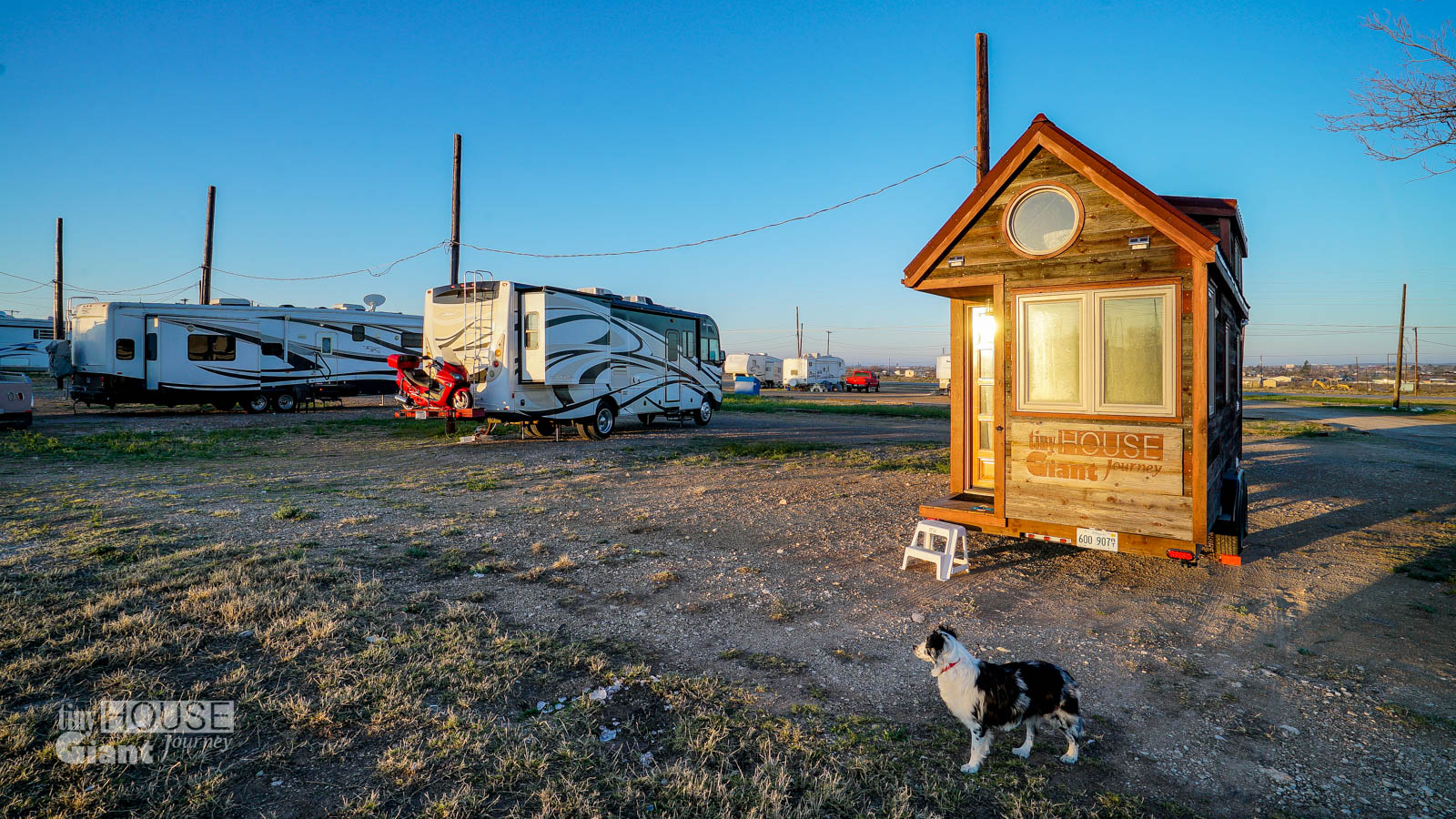 Tiny House Campsites Parkview RV Park