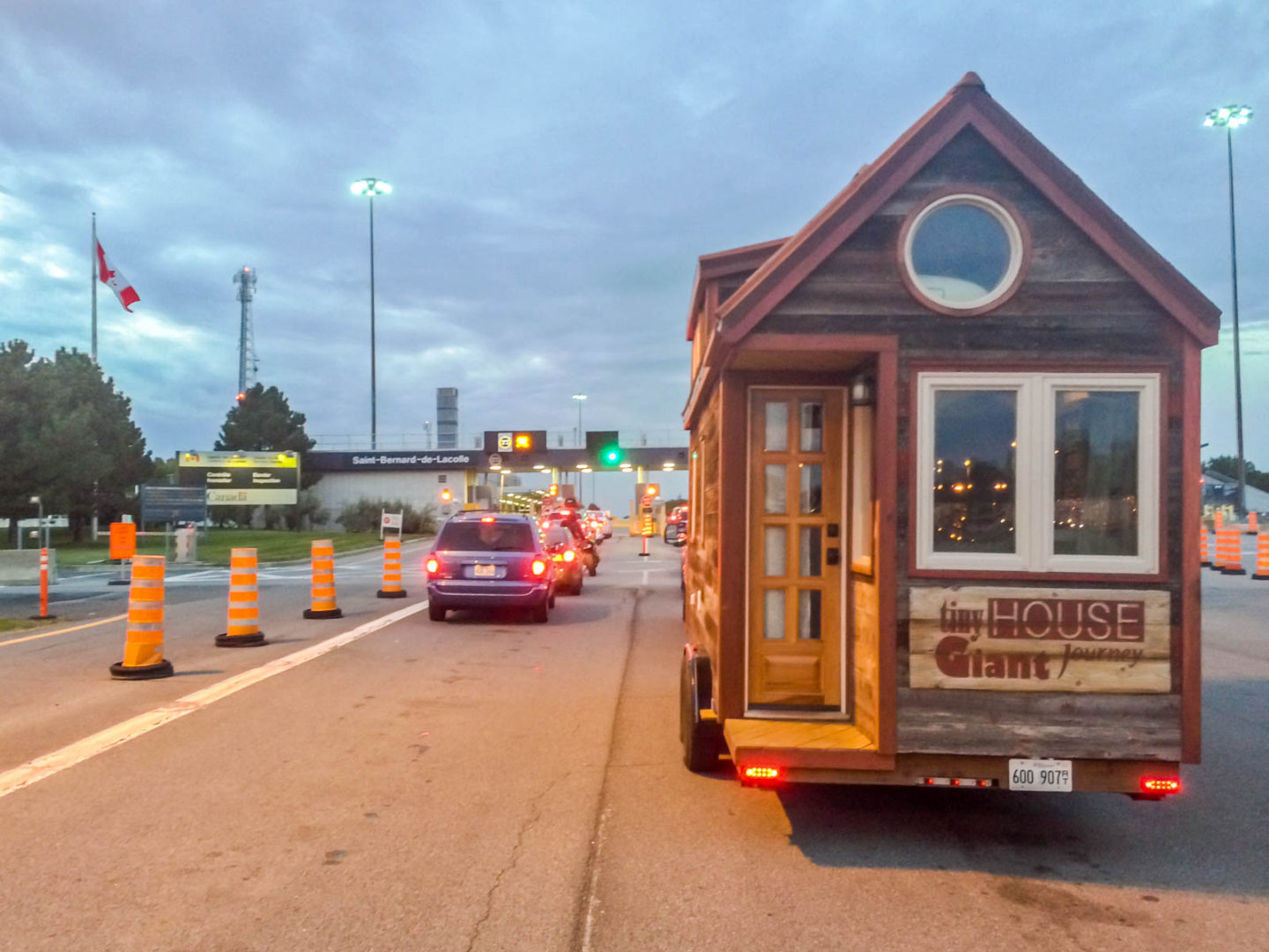 """Do You Have Any Guns?"": A Tiny House Border Crossing"
