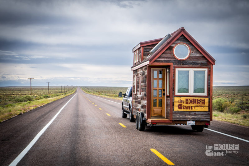 Tiny House travel tips including: towing, camping and roadtripping