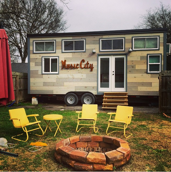 Nashville, TN: Three Tiny Homes & Chicken Analogies
