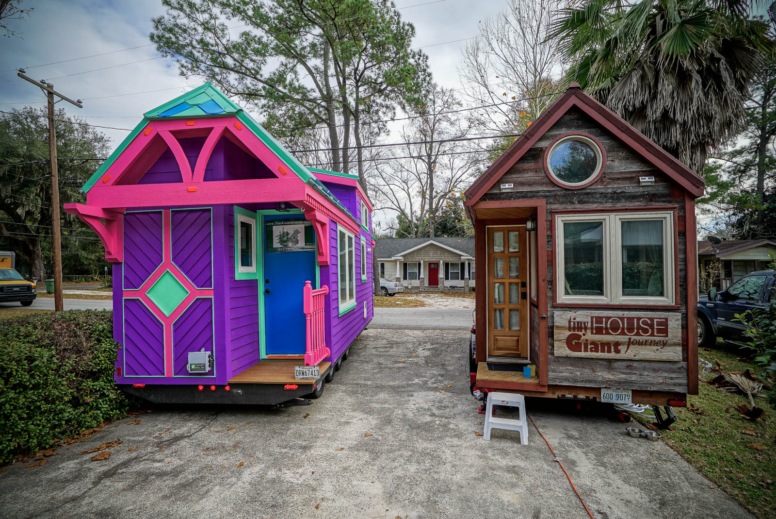 Traveling through savannah georgia with a tiny house for How to become a builder in ga