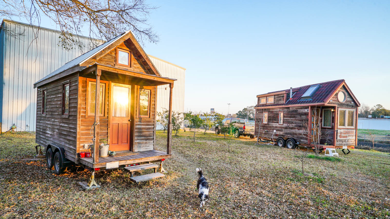 Art Cormier's Tiny House & Tiny House GJ