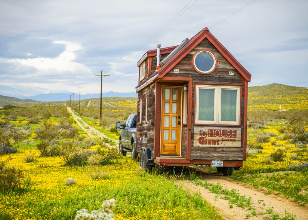 springtime for tiny house giant journey