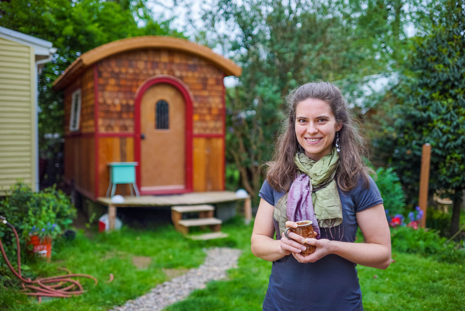Portland tiny house community for Case piccolissime