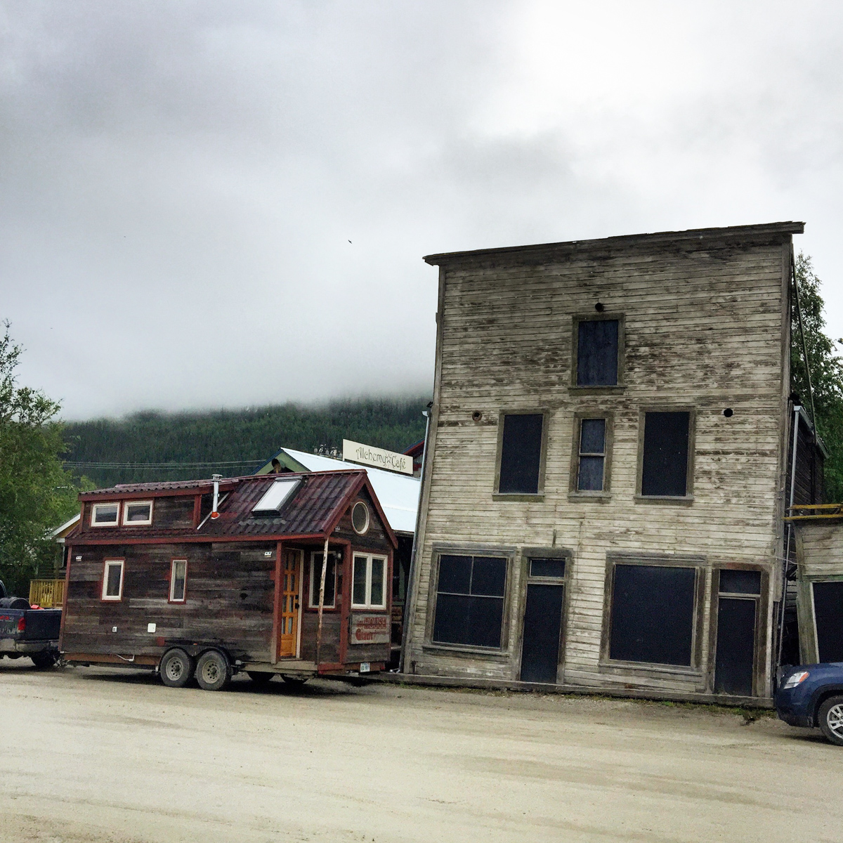 Dawson City, YT: Gold Rush Era & Sour Toe Cocktails
