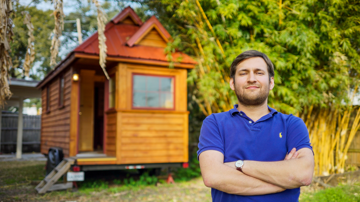 Derek's New Orleans Tiny House