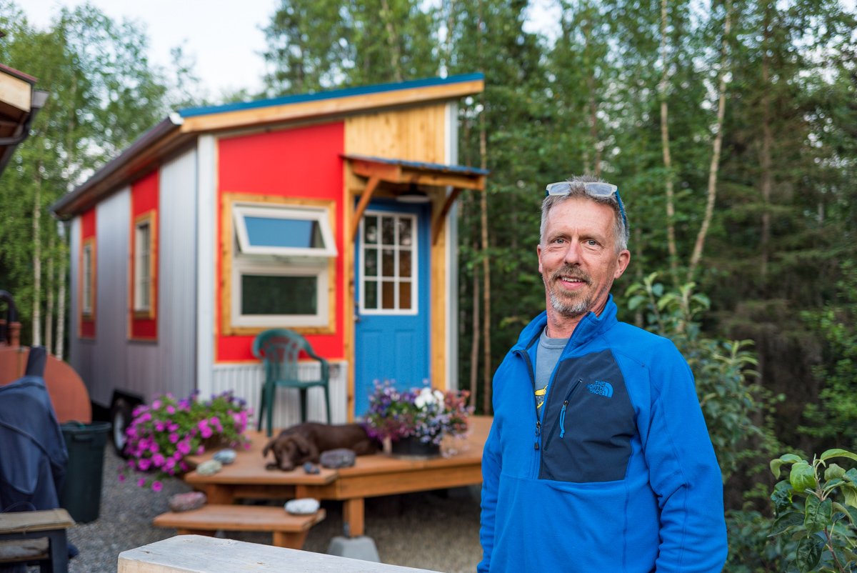 Mark's Alaskan Tiny House: Designed to be Eco-Friendly