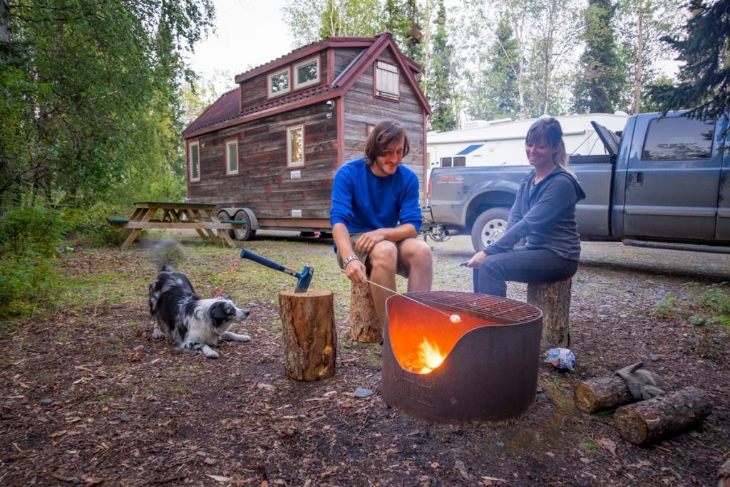 04 - Tiny House Leatherman Tread Snag Creek Campground Yukon