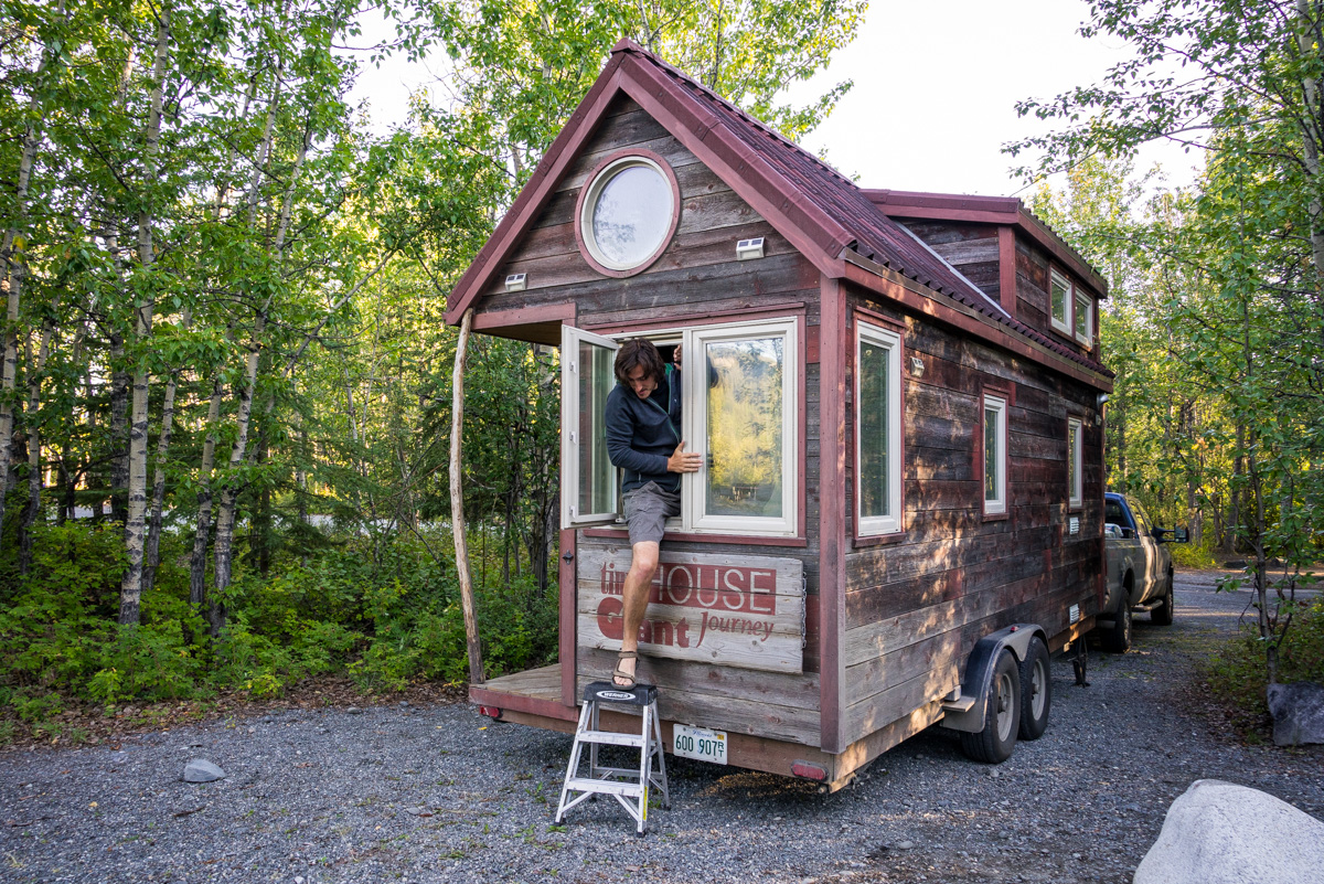 How to break a house window how to break into a tiny house for Classic house acapellas