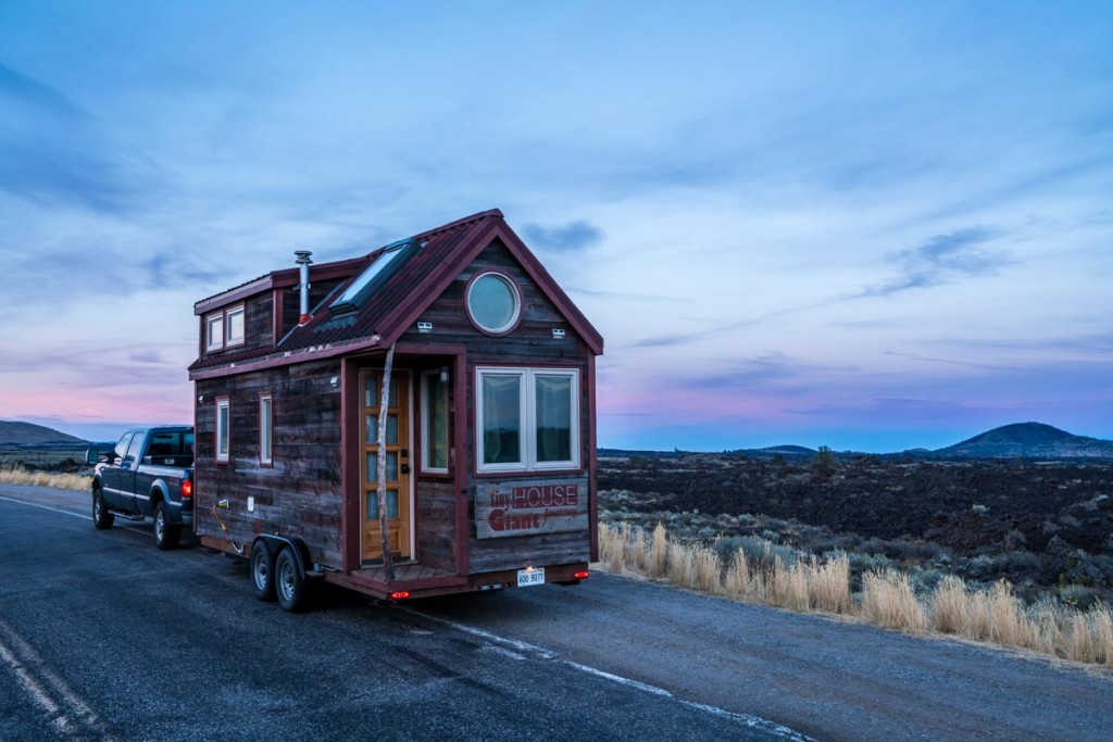 Craters of the Moon TIny House